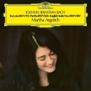 Martha Argerich: Bach, J.S.: Toccata, Partita, 2. English Suite - Plak