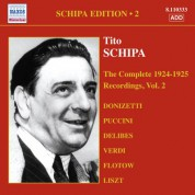 Schipa: The Complete 1924-1925 Recordings, Vol.2 - CD