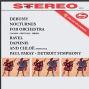 Detroit Symphony Orchestra, Paul Paray: Debussy: Nocturnes / Ravel: Daphnis et Chloé: Suite No. 2 - Plak