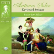 Pieter-Jan Belder: Soler: Complete Sonatas, Vol. 3 (Keyboard Sonatas) - CD