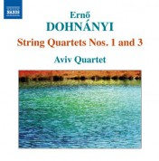 Aviv Quartet: Dohnányi: String Quartets Nos. 1 & 3 - CD
