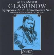 Neeme Järvi, Bamberger Symphoniker: Glazunov: Symphony No. 2 - Plak