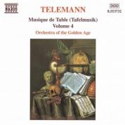 Telemann: Musique De Table (Tafelmusik), Vol. 4 - CD