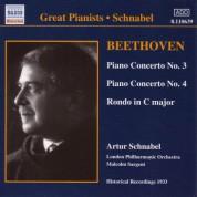 Beethoven: Piano Concertos Nos. 3 and 4 (Schnabel) (1933) - CD