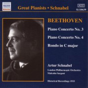 Beethoven: Piano Concertos Nos. 3 and 4 (Schnabel) (1933) - CD