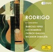 Los Romeros, Narciso Yepes, Nicanor Zabaleta, Patrick Gallois: Rodrigo: 4 Guitar Concertos - CD