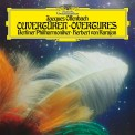 Herbert Von Karajan, Berliner Philharmoniker: Offenbach: Overtures - Plak