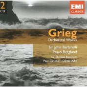 Halle Orchestra, Bournemouth Symphony Orchestra, Royal Philharmonic Orchestra, John Barbirolli, Thomas Beecham: Grieg: Orchestral Works - CD