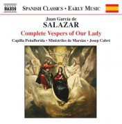 Salazar: Complete Vespers of Our Lady - CD