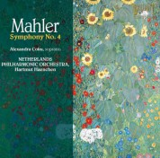 Alexandra Coku, Netherlands Philharmonic Orchestra, Hartmut Haenchen: Mahler: Symphony No. 4 - CD