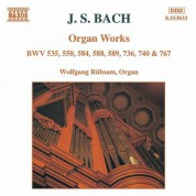 Bach, J.S.: Organ Works, Bwv 535, 550, 584, 588-589, 736, 740 - CD