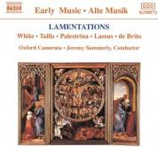 Oxford Camerata, Jeremy Summerly: Lamentations (White, Tallis, Palestrina, Lassus, de Brito) - CD