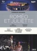Nino Machaidze, Ketevan Kemoklidze, Cristina Melis, Stefano Secco, Jean-Francois Borras, Orchestra dell'Arena di Verona, Fabio Mastrangelo: Gounod: Romeo et Juliette - DVD