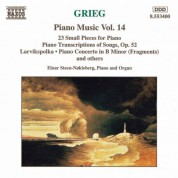 Grieg: Piano Transcriptions of Songs, Op. 52 / 23 Small Pieces / - CD
