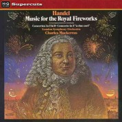 London Symphony Orchestra, Sir Charles Mackerras: Handel: Music for Royal Fireworks - Plak