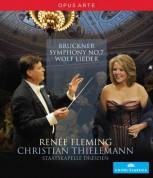 Wolf; Bruckner: Thielemann/Fleming Concert (Dresden) - BluRay