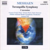 Messiaen: Turangalila Symphony / L'Ascension - CD