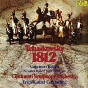 Erich Kunzel, Cincinnati Symphony Orchestra: Tchaikovsky: 1812 Overture, Capriccio Italien, Cossack Dance From Mazeppa - Plak
