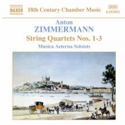 Zimmermann, A: String Quartets Nos. 1-3 - CD