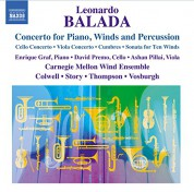Balada: Concerto for Piano, Winds and Percussion - CD