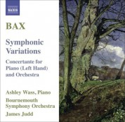 Ashley Wass: Bax, A.: Symphonic Variations / Concertante for Piano Left Hand - CD