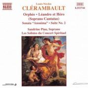 Clerambault: Orphee / Leandre Et Hero / Sonata Anonima - CD