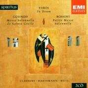 Stephen Cleobury, Jean-Claude Hartemann, Riccardo Muti: Verdi: Te Deum, Gounod: Messe Solennelle de Sainte Cécile, Rossini: Petite Messe Solennelle - CD