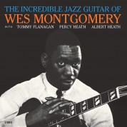Wes Montgomery: The Incredible Jazz Guitar Of Wes Montgomery. Limited Edition in Solid Red Virgin Vinyl. - Plak