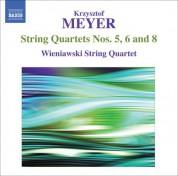 Wieniawski String Quartet: Meyer: String Quartets Nos. 5, 6 and 8 - CD