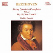Beethoven: String Quartets Op. 18, Nos. 5 and 6 - CD