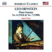 Ornstein: Piano Sonatas Nos. 4 and 7 - CD