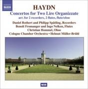 Helmut Muller-Bruhl: Haydn, J.: Concertos for 2 Lire Organizzate, Hob.Viih:1-5 - CD