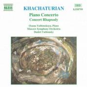 Khachaturian, A.I.: Piano Concerto / Concert Rhapsody - CD