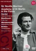 Academy of St. Martin in the Fields, Sir Neville Marriner: Neville Marriner & Academy St. Martin in the Fields (Handel, Beethoven, Mendelssohn, Britten) - DVD