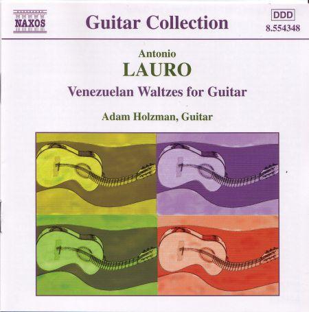 Lauro: Guitar Music, Vol. 1 - Venezuelan Waltzes - CD