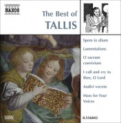 Jeremy Summerly: Tallis (The Best Of) - CD