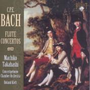 Machiko Takahashi, Concertgebouw Chamber Orchestra, Roland Kieft: C.P.E. Bach: Flute Concertos - CD