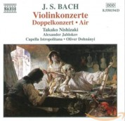 Takako Nishizaki, Alexander Jablokov, Capella Istropolitana, Oliver von Dohnanyi: J.S. Bach: Air on a G String, Double Concerto, Violin Concerto - CD