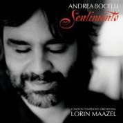 Andrea Bocelli, London Symphony Orchestra, Lorin Maazel: Andrea Bocelli - Sentimento - CD