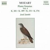 Jeno Jando: Mozart: Piano Sonatas, Vol. 4 (No: 3, 7, 11, 18) - CD
