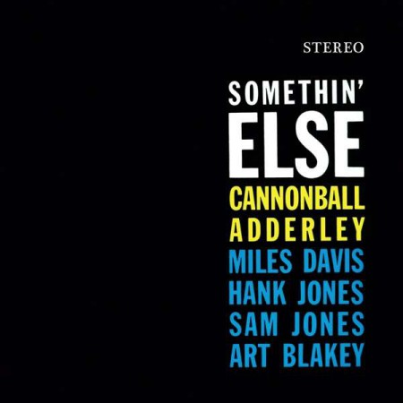 Cannonball Adderley: Somethin' Else (Limited Edition - Orange Vinyl) - Plak
