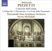 Thessaloniki State Symphony Orchestra: Pizzetti, I.: Concerto Dell'Estate / La Festa Delle Panatenee - CD