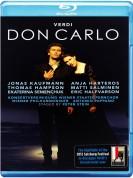 Jonas Kaufmann, Anja Harteros, Wiener Philharmoniker, Antonio Pappano: Verdi: Don Carlo - BluRay