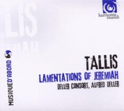 Deller Consort, Alfred Deller: Tallis: The Lamentations of Jeremiah - CD