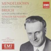 Yehudi Menuhin, Philharmonia Orchestra, Efrem Kurtz, Walter Susskind: Mendelssohn: Violin Concerto; Bruch: Violin Concerto No. 1 - CD