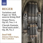 Josef Still: Reger, M.: Organ Works, Vol.  9 - CD