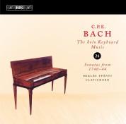 Miklós Spányi: C.P.E. Bach: Solo Keyboard Music, Vol. 24 - CD
