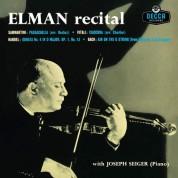 Mischa Elman: Recital - Plak