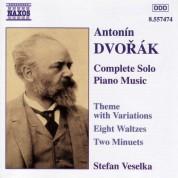Stefan Veselka: Dvorak: Theme With Variations, Op. 36 / Waltzes, Op. 54 - CD