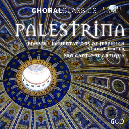 Pro Cantione Antiqua, Mark Brown, Bruno Turner: Palestrina: Masses, Lamentations of Jeremiah, Stabat Mater - CD